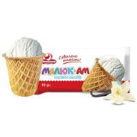 Морозиво Ласунка Малюк-АМ пломбір 90г
