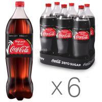 Напій Coca-Cola Zero сильногазований 1,5л
