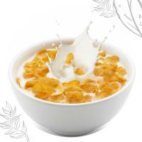 Кукурудзяні пластівці з молоком